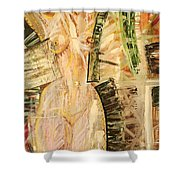 Nature In Nude Shower Curtain