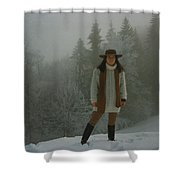Nature Joy In The Swiss Alps Shower Curtain