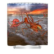 Nature Of The Game Shower Curtain