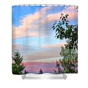 Nature Palette Shower Curtain