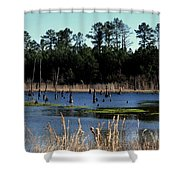 Nature Preserved 2 Shower Curtain
