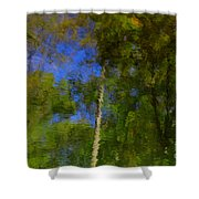 Nature Reflecting Shower Curtain