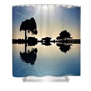 Nature Simplicity  Shower Curtain