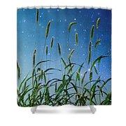 Nature Sparkles Shower Curtain