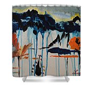 Nature View Shower Curtain