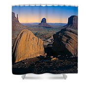 Nature's Architecture Shower Curtain