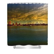Natures Dramatic Skies  Shower Curtain