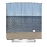 Natures Energy Shower Curtain