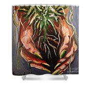 Natures Hands Shower Curtain