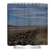 Natures Painted Desert Shower Curtain