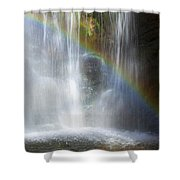 Natures Rainbow Falls Shower Curtain