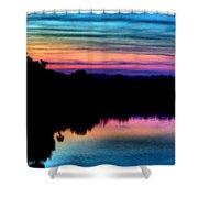 Nature's Rainbow Shower Curtain