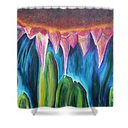 Nature's Soul.. Shower Curtain
