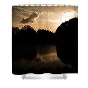 Nature's Sunset Shower Curtain
