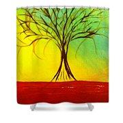 Natures Vivid Colors Shower Curtain
