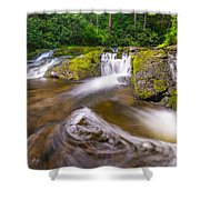 Nature's Water Slide Shower Curtain