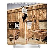 Naturita Town Hall - Vintage Shower Curtain