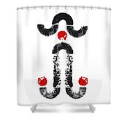 Naughty Norman Shower Curtain