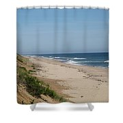Nauset Beach Orleans Ma Shower Curtain