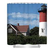 Nauset Light Shower Curtain