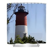 Nauset Light - Cape Cod -  Ma Shower Curtain