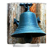 Nautical Bell Shower Curtain