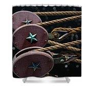 Nautical Ties Shower Curtain