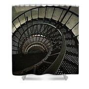 Nautilus Stairway Shower Curtain