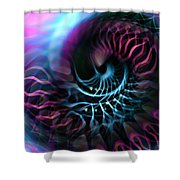 Nautlius Shower Curtain