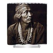 Navajo Medicine Man, C1904 Shower Curtain