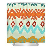 Navajo Missoni I Shower Curtain