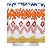 Southwest Pattern IIi Shower Curtain