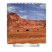 Navajo Nation Series Along Arizona Highways Shower Curtain
