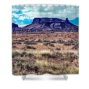 Navajo Reservation Series 1 Shower Curtain