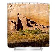 Navajo Ruins Shower Curtain