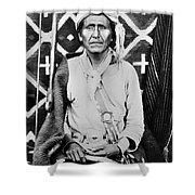 Navajo Shaman, C1880 Shower Curtain