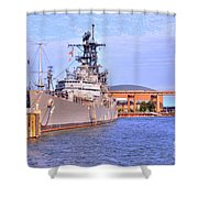 Naval Park Shower Curtain