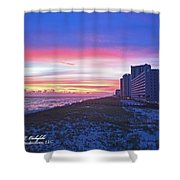 Navarre Beach Fl 2013 10 30 I Shower Curtain