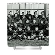 Navy Football 1913 Shower Curtain