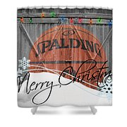 Nba Basketball Shower Curtain