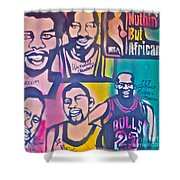 Nba Nuthin' But Africans Shower Curtain