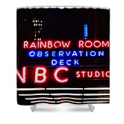 Nbc Studios Shower Curtain