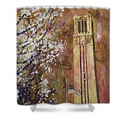 Ncsu Bell Tower Shower Curtain