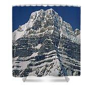 1m3645-ne Face Howse Peak-v Shower Curtain