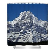 1m3644-ne Face Of Howse Peak Shower Curtain