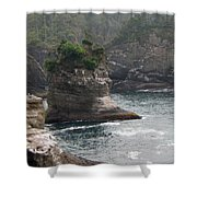 Neah Bay At Cape Flattery II Shower Curtain