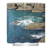 Neah Bay At Cape Flattery Shower Curtain