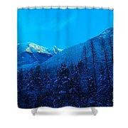 Near Fernie British Columbia  Shower Curtain