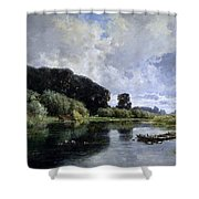 Near Friesland Shower Curtain