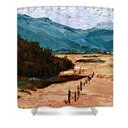 Near La Veta Shower Curtain